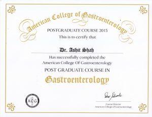 Gastroenterology course